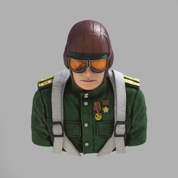 print-beat - Ivan Kozhedub Soviet World War II. Fighter Ace